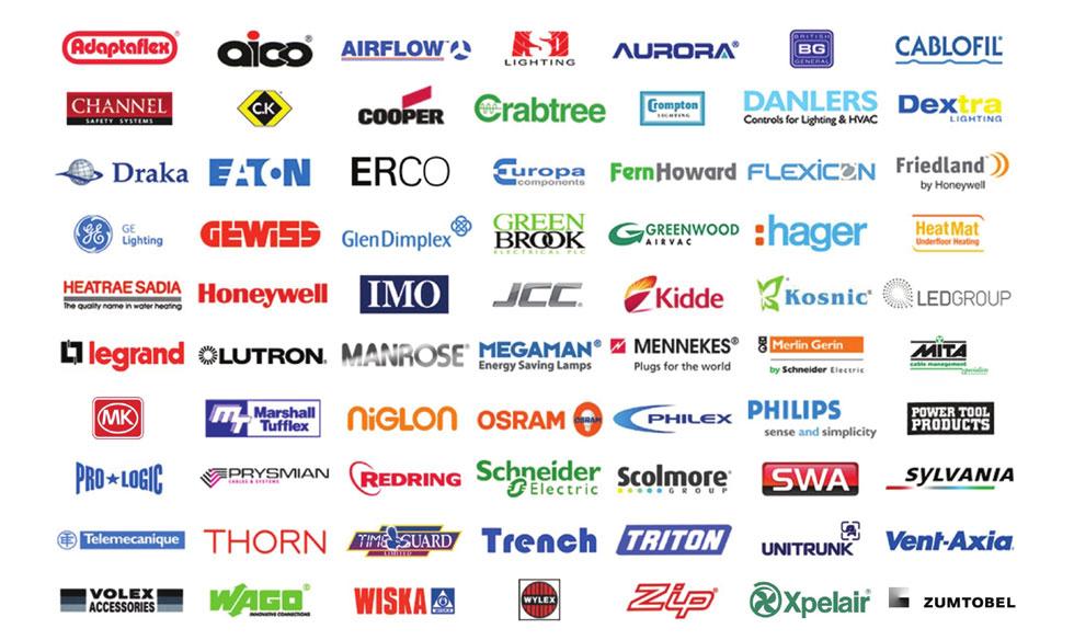 Stocked Brands R Amp B Star Electrical Wholesalersr Amp B Star