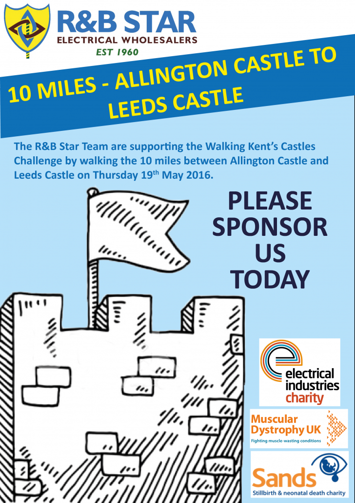 Walking Kent's Castles Flyer