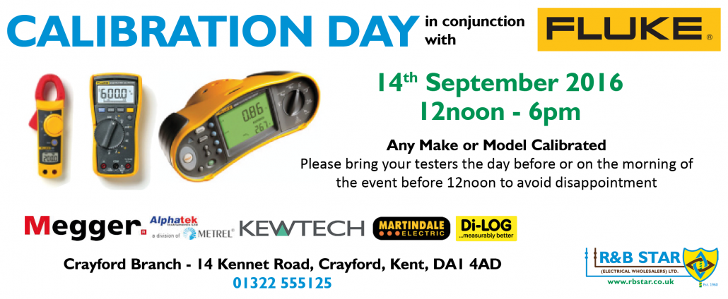 Crayford Calibration Day